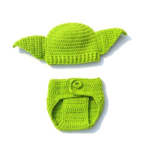 Kalttoy - Disfraz de Yoda de Star Wars, Hecho a Mano, para recién Nacido