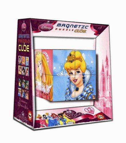 Educa Borrás - Magnetic Puzzle Cube 8 Princesas Disney (14066)