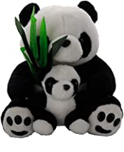 Cute Naive Panda Stuffed Animal - Soft Plush Toys for All Ages – Great for Nursery, Room Decor, Bed – Measures 10 inch …