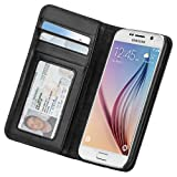 Case-Mate Wallet Case for Samsung Galaxy S6 - Retail Packaging - Black/Black