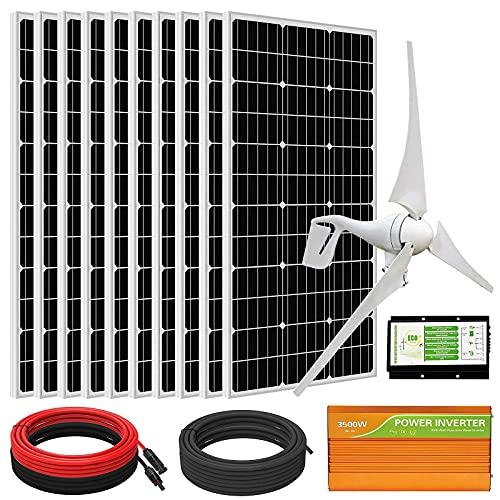 ECO-WORTHY 1400W Wind Solar Power Kit