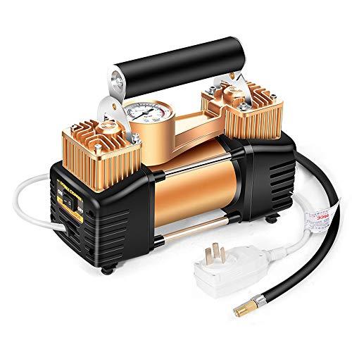 Bomba de aire del vehículo eléctrico de 220 V doble cilindro bomba...