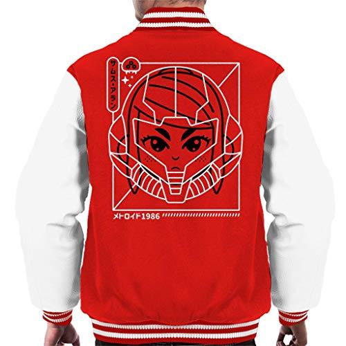 Cloud City 7 Cyber Helmet Metoroid Version II Men's Varsity Jacket