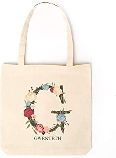 Personalized Monogrammed Tote Bags for Women - Monogrammed Gifts for Women Valentines Day, Birthday
