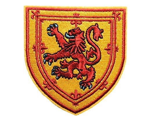 Parche Bordado Escudo Escudo Escocia Escudo león