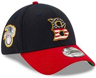 New Era Men's Boston Red Sox Navy/Red 2019 Stars & Stripes 4th of July 39THIRTY Flex Hat