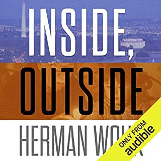 Inside, Outside audiobook cover art