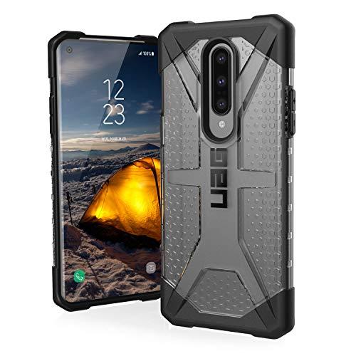 Urban Armor Gear Plasma Hülle OnePlus 8 Schutzhülle (Wireless Charging kompatibles Cover, Sturzfeste Handyhülle, Ultra Slim Bumper) - transparent