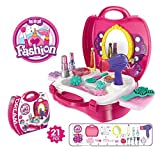 Best Makeup Kits - arha iinternational kids pretend play beauty salon fashion Review