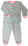 Snoozers 100% Cotton Flannel Pajamas by Timeke (3-up to 3yrs, Cup Cake Craze)