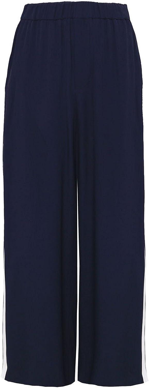 Charli Women's Shea Wide Leg Trousers Navy