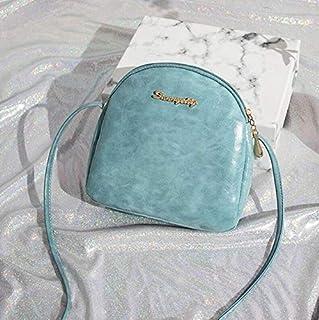 TCSLBP Brand small Messenger Bag Fashion Design PU Bag for Women Solid Handbags Shoulder Flap Cross Body Bags shell shape bags for women