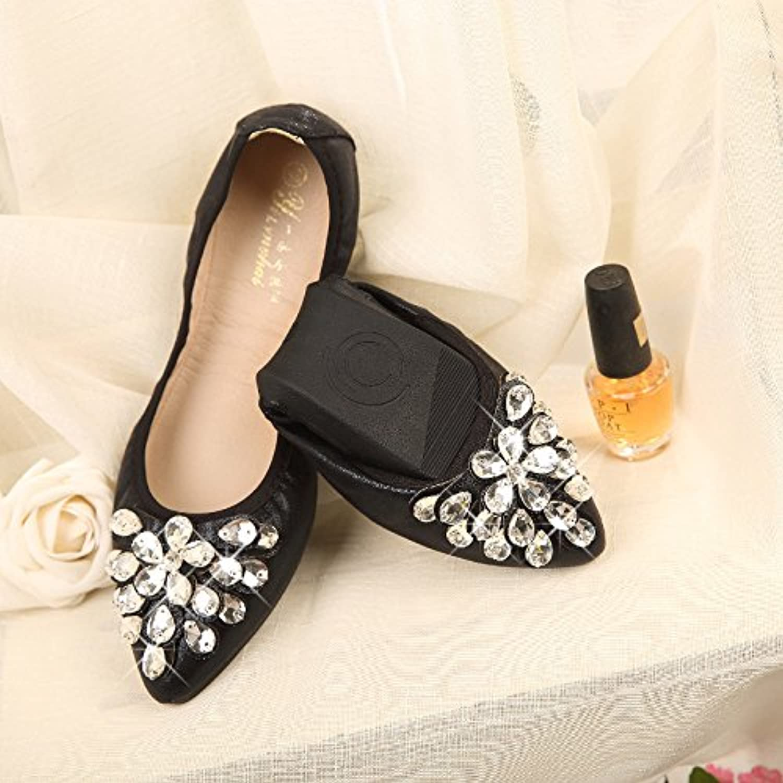 WHW Women shoes gondola soft ground light port tsutsu ,black,36 pregnant women shoes