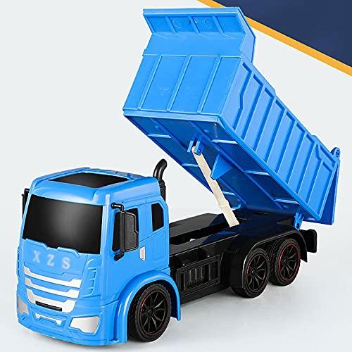 QHYZRV Camiones con control remoto Camiones contenedores de tierra Cargadores Camiones volquete Camiones Transportadores Camiones volquete Camiones Hobby Coches de juguete Camiones de ingeniería de 2.
