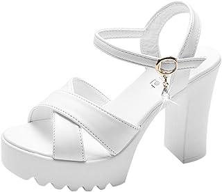 Beautyjourney sandali zeppa donna estive eleganti - sandali estivi donna elegante sandali plateau donna sandali aperti don...