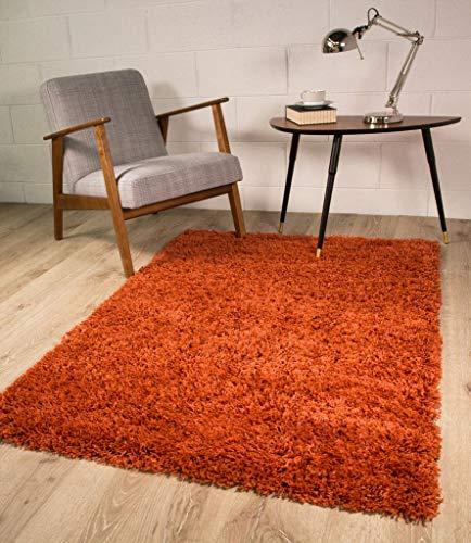 Alfombra de Lujo Terracotta, 5 tamaños Disponibles, 110 x 160 cm