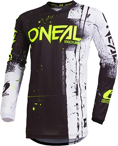 O'NEAL Element Shred FR Youth Kinder Jersey Trikot lang schwarz/weiß 2019 Oneal: Größe: M (116-134)