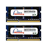 Arch Memory Replacement for Synology RAM1600DDR3L-8GBx2 16 GB Kit (2 x 8 GB) DDR3L-1600 PC3L-12800 204-Pin So-dimm RAM for RackStation RS818+/RS818RP+