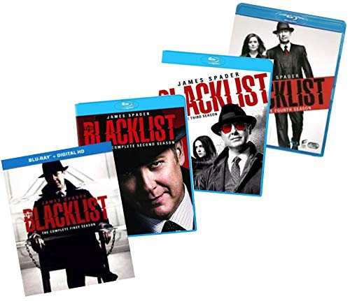 The Blacklist: The Complete First, Second, Third, & Fourth Seasons Blu-ray Collection (Season 1, Season 2, Season 3, and Season 4) [Bluray]