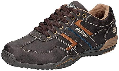 Dockers by Gerli Herren 44BN009 Sneaker, Braun (Schoko 360), 44 EU