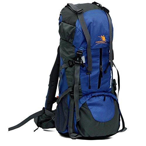65L + 5L Ultra-Large Capacité extérieur Nylon imperméable Sac à dos de haute qualité Sac à dos de randonnée Camping Sacs à dos , 4