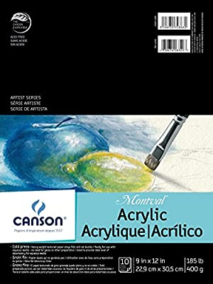 Canson Artist Series Montval Acrylic Pad
