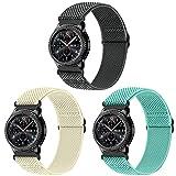 Vodtian Correa elástica ajustable de 22 mm, compatible con Samsung Galaxy Watch 46 mm/Galaxy Watch 3 45 mm/Gear S3 Frontier/Classic, de nailon trenzado, solo Loop