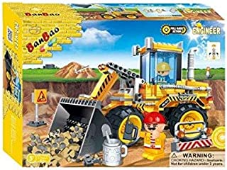 Banbao Construction, Building Sets & Blocks For Boys 3 Years & Above,Multi color