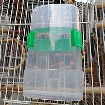 Ogquaton Abreuvoir Automatique pour Oiseaux, Distributeur d'animaux de Compagnie Parrot avec Pince à Cage, 1 PC Durable et Pratique