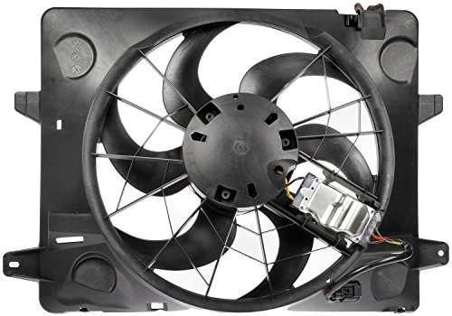 Dorman 620-120 Engine Cooling Fan Assembly for Select Ford / Lincoln / Mercury Models , Black