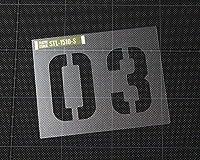 ステンシルシート プラスチック製 クイックステンシル サイズS 03 _SL-STL1510S-AHD