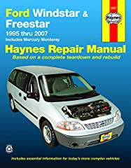 1995 - 2007 Ford Windstar, Freestar & Mercury Monterey Haynes Repair Manual