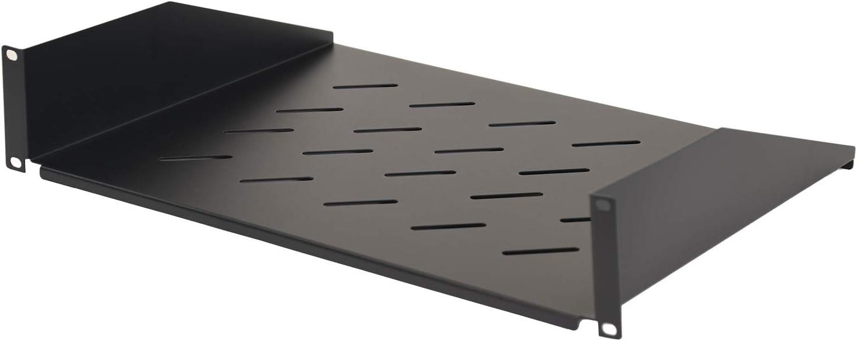 Aeons 2U Universal Super sale period limited Server Rack Rackmount Shelf Cantilever Vented OFFicial shop
