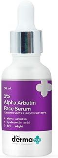 The Derma Co 2% Alpha Arbutin Face Serum for Dark Spots & Uneven Skin Tone - 30 ml(dermaco)