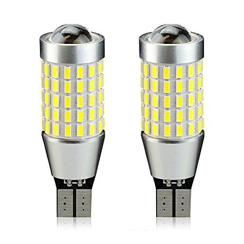 JDM ASTAR Extremely Bright 2000 Lumens 360-Degree Shine 921 912 90-EX Chipsets LED Bulbs For Backup Reverse Lights, Xenon White