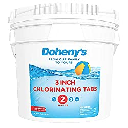 Doheny's pool chlorine tablet