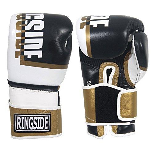 Ringside Omega Sparring Boxing Gloves, 18 oz, Red/Black