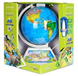 Oregon Scientific Educational Learning Smart Globe for Home School World Geography Toy with Games, Countries & Fun Facts