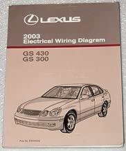 2003 Lexus GS430 GS300 Electrical Wiring Diagrams (UZS161, JZS160 Series)