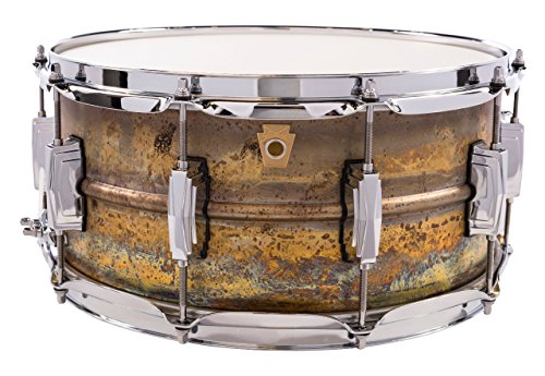 Ludwig LB464R 6.5x14 Raw Brass Snare Drum