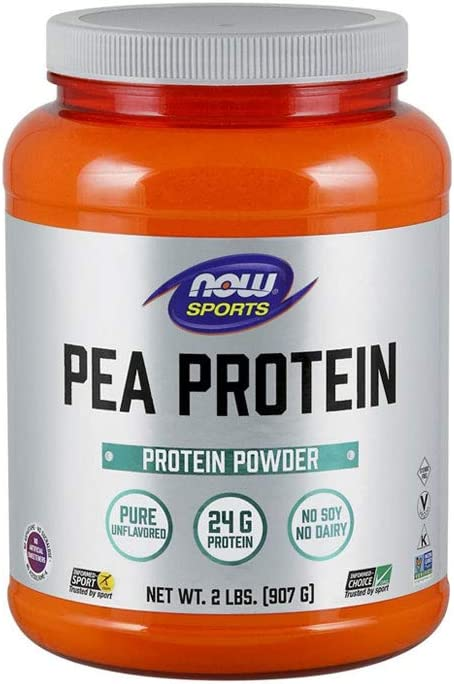 NOW Sports Nutrition Pea Protein It is very popular G Unflavor Fast 5 ☆ very popular Absorbing 24