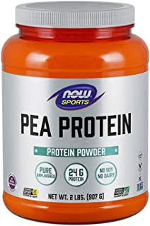 NOW Sports Nutrition, Pea Protein Powder, Unflavored, 2-Pound
