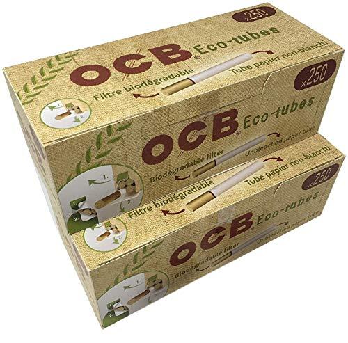 OCB 500 Organic Eco-Tubes (Hülsen, Filterhülsen, Zigarettenhülsen)