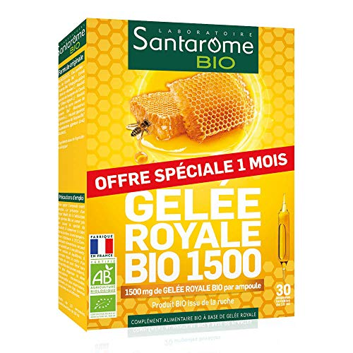 Santarome Gelee Royale Bio 1500-30 Ampullen 10 ml