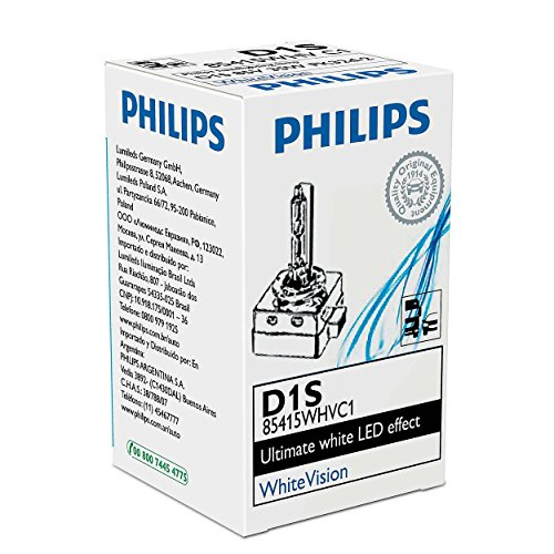 Philips Xenon Lampe de Graveur White Vision D1S 85 V 35 W 85415 whvc1