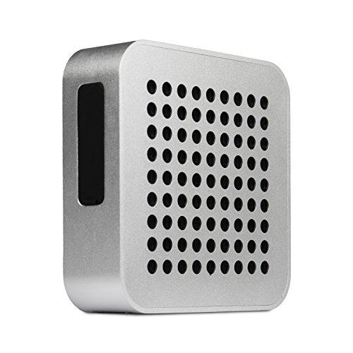 BLAUPUNKT BT 50 SV Bluetooth Lautsprecher mit Mikrofon für Freisprecheinrichtung Box/Stereoanlage wireless - Akku Musikanlage Audio System und Bass 5 W RMS (TV/PC/Musik-Streaming) silber
