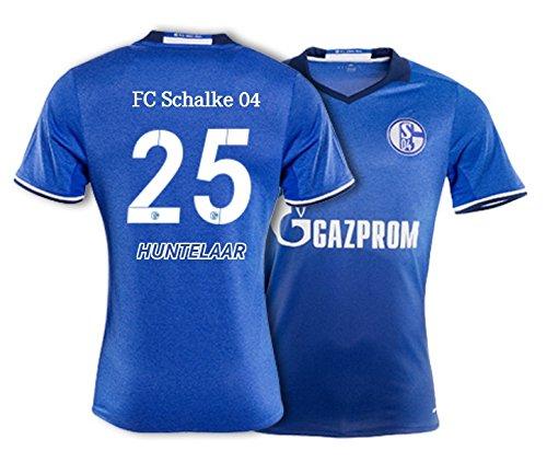 adidas Trikot FC Schalke 04/2016-2017 Home (Huntelaar 25, M)