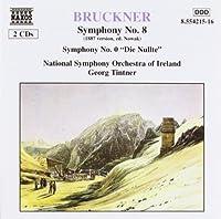 Bruckner: Symphony No. 8 (1887 version, ed. Nowak) / Symphony No. 0 Die Nullte by A. Bruckner (2013-05-03)