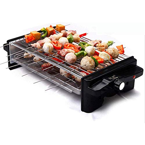 Buy NILINMA Double electric grill -Electric Indoor Searing Grill Removable Easy-To-Clean Nonstick Pl...