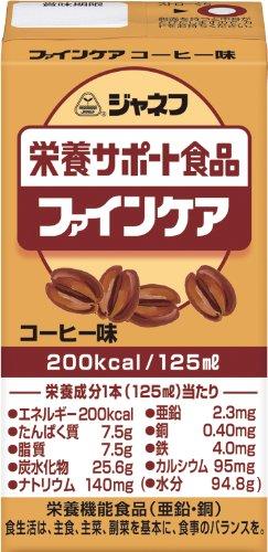 ジャネフ ファインケア栄養サポート飲料 コーヒー風味 125ml×12個